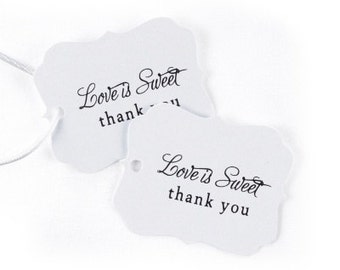 Love is Sweet Wedding Favor Tags (Pack of 25)