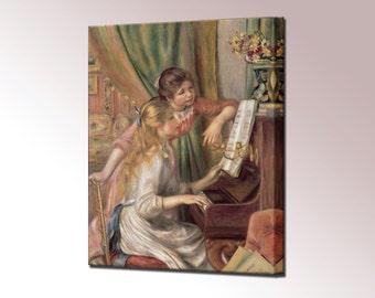 Renoir Young Girls at the Piano Canvas Print Canvas Wall Art Print Wall Decor Ready To Hang Decor