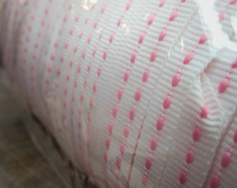 300 Yards Pink Dash Ribbons ~1 pieces #100967