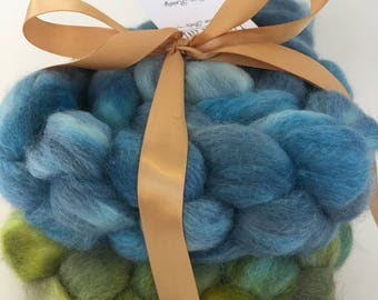 BFL Combed Top/Roving for Combo Spinning