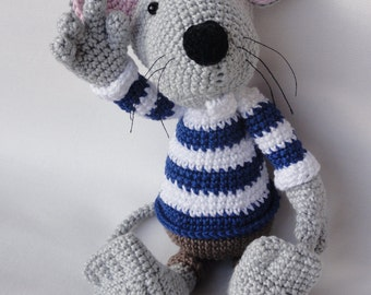 Amigurumi Mouse Pattern Crochet : Amigurumi mice etsy