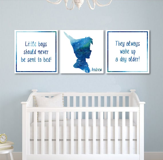 Peter Pan Nursery Decor Peter Pan Decor Kids Room Decor