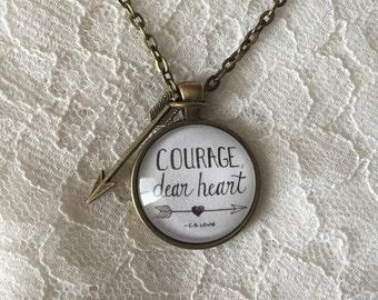"Courage, dear heart 1"""