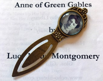 Lucy Maud Montgomery Bookmark -  Anne of Green Gables Bookmark, L M Montgomery Gift,  Children's Book Gift, Anne of Green Gables Gift