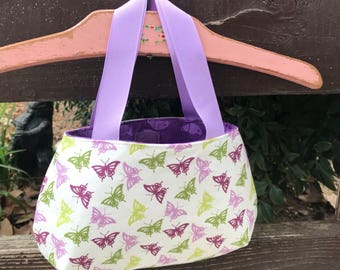 Butterfly Little Girl's Purse Ready to ship