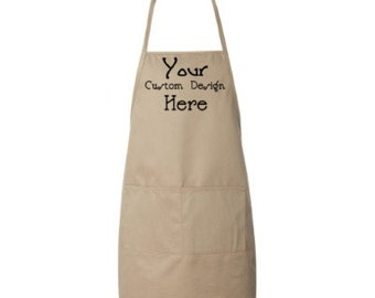 Custom Embroidered Apron More Colors