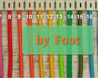 Textile cable by foot| Fabric covered wire| DIY| Retro cable