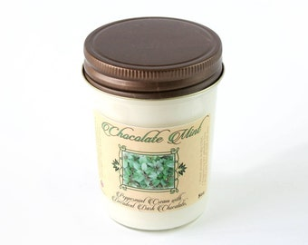Chocolate Mint - Natural Soy Candle