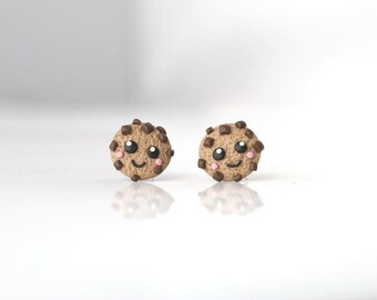 Cookies earrings - tiny, cute Kawaii collection