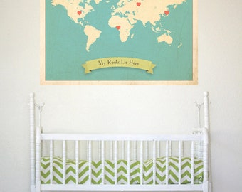 Oh The Places You'll Go Dr. Seuss Vinyl Wall Decal Sticker