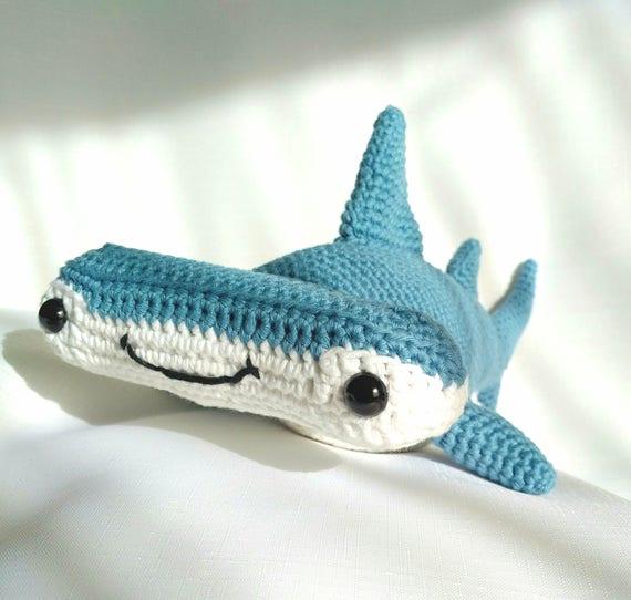 Pdf Hammerhead Shark Crochet Pattern Hank The Hammerhead Shark