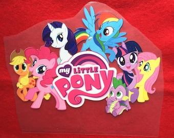 My little pony  Iron-On Heat Transfer ~~Decorate all the clothing ,bags or other fabrics.