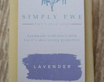 Ewe's Milk & Lavender Soap