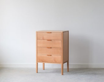 Avers Tallboy Dresser - Solid Wood - Available in other woods