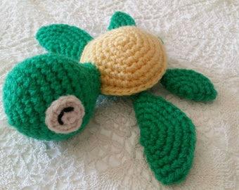 Amigurumi Petite tortue peluche // turtle // cadeau enfant // cadeau naissance // fait main au crochet //