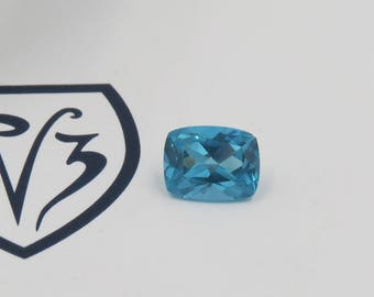 4.02ct Cushion Cut Apatite