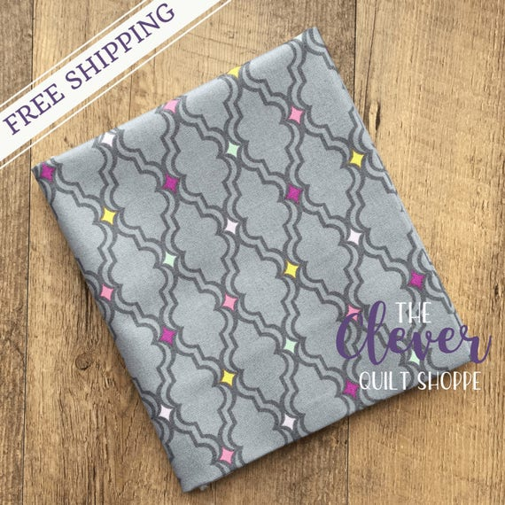 Quilting Fabric, Camelot, OhGee in Gray, My Gray or the Highway, Jack!e