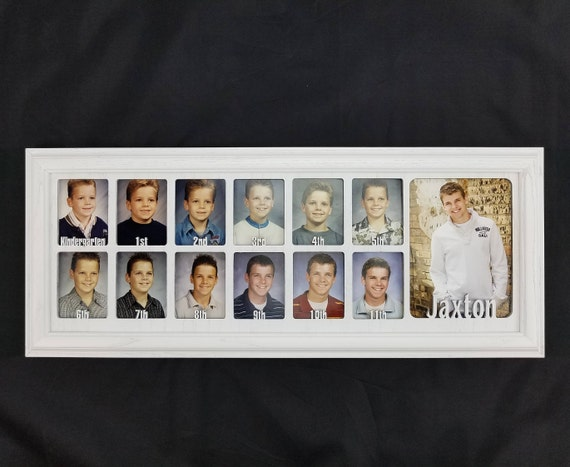 School Years Picture Frame Personalized with Any Name 10