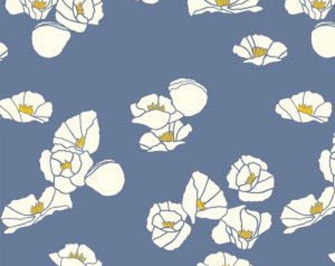 Organic KNIT Fabric - Birch Summer '62 Knit - Cali Pop in Nightfall Knit