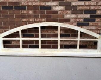 Custom Window Frame with Shelf