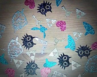 Zelda Confetti | Glittery Confetti | Legend of Zelda Table Scatter