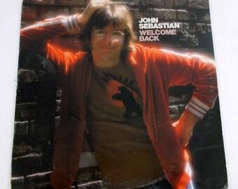 John Sebastian Welcome Back Vinyl LP Record Album MS 2249