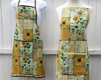 "Apron, ""Sunflower Garden"""