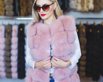 Fur Vest from Arctic Fox