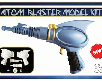 Atom Blaster cosplay prop model kit retro science fiction sci-fi