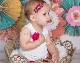 You Pick 1 Baby Headband, Baby Girl Bows, 12 colors Baby Girl Accessories Baby Headbands, Baby Hairbows, Baby Shower Gift, Vintage Baby Bows