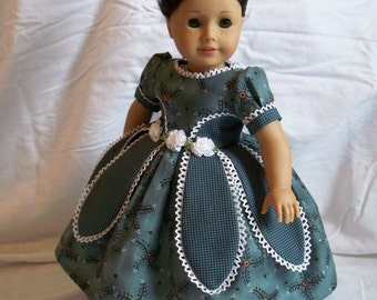 American Girl Mid 1800's Petal Gown / Clothes for Marie Grace or Cecile