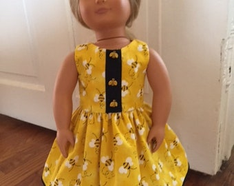 Yellow Doll Dress