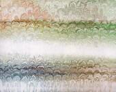 "Landscape Fantasy - Original Marbling Art, Marbled Paper, The Original ""Marbled Graphics""TM by Robert Wu"