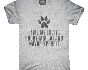 Funny Exotic Shorthair Cat Breed T-Shirt, Hoodie, Tank Top, Gifts