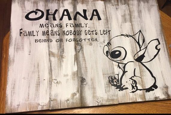 Ohana mittlere Familie Disney Lilo & Stitch Familie
