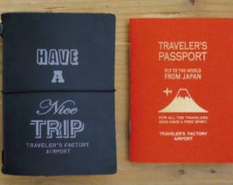 Narita Airport Traveler's Notebook - Have A Nice Trip (Passport Size)