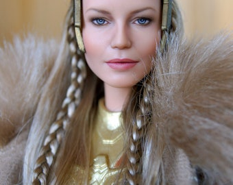 OOAK custom Barbie Wonder Woman Queen Hippolyta Doll by Olga Kamenetskaya