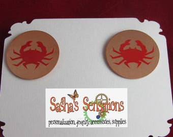 Maryland Crab Earrings