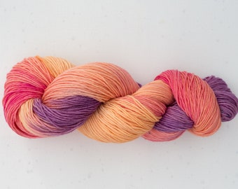 Wool hand dyed hand knitted crochet supply handdyedwool Tricotcolor creative knit dye weaving tricotcolor merino wool