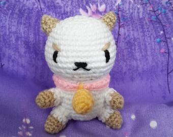 Puppycat Amigurumi - Puppycat Crochet - Puppycat Plush - Puppycat Stuffed Animal - Bee and Puppycat Plush - Puppycat and Bee