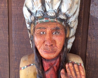CIGAR STORE INDIAN by Joseph Kaminski