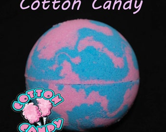 Cotton Candy Bath Bomb, bathbomb, bath bomb for kids, kids bath bombs, children, girl, spa, bath