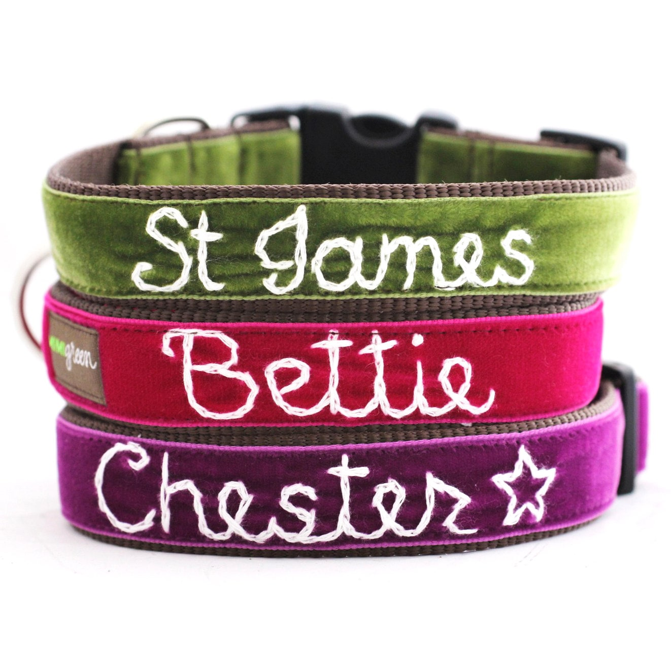 Personalized Nylon Dog Collar, Custom Embroidered with Pet Name & Phone  Number. 4 Adjustable