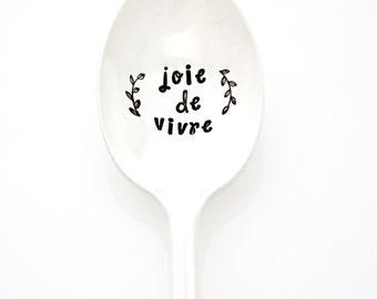 joie de vivre choose joy french quote fashion art joy