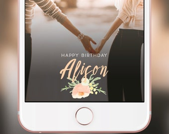 Sisters Snapchat Geofilter for Birthday - bestfriends