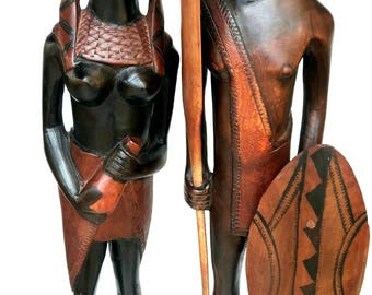 african warriors etsy