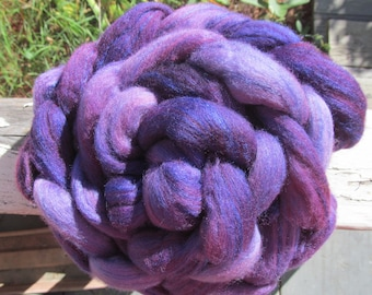 Starsheep Merino/Silk Braids (80/20): Imperial Purple