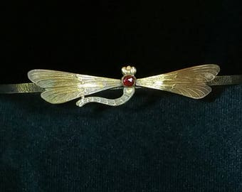 Dragonfly Circlet ,Crown Headpiece with stone