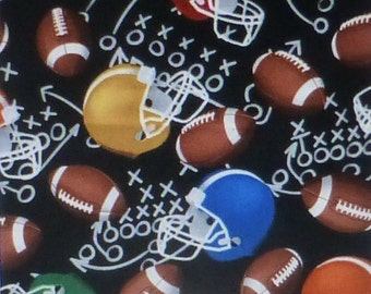 Football Helmets Sports~Cotton Fabric Clothing,Quilt,Timeless Treasures,SPORT-C4138, Fast Shipping,S157