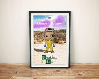 Breaking Bad poster fanart Funko POP!